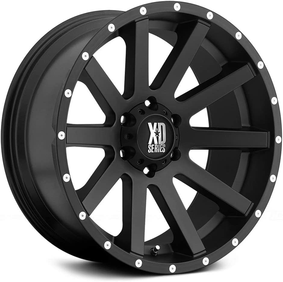 KMC XD Series XD818 Heist Gloss Black 20 Inch Rims