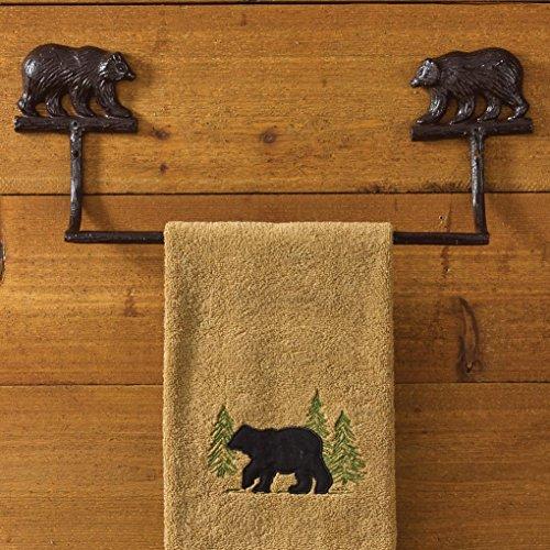 (Park Designs Cast Bear Towel Bar - 16