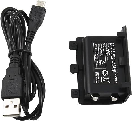 Bateria 1200 mah Mando Xbox One: Amazon.es: Electrónica