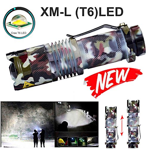 Baomabao 5000LM Zoomable 5 Modes T6 LED Flashlight Torch Lamp Outdoor Light