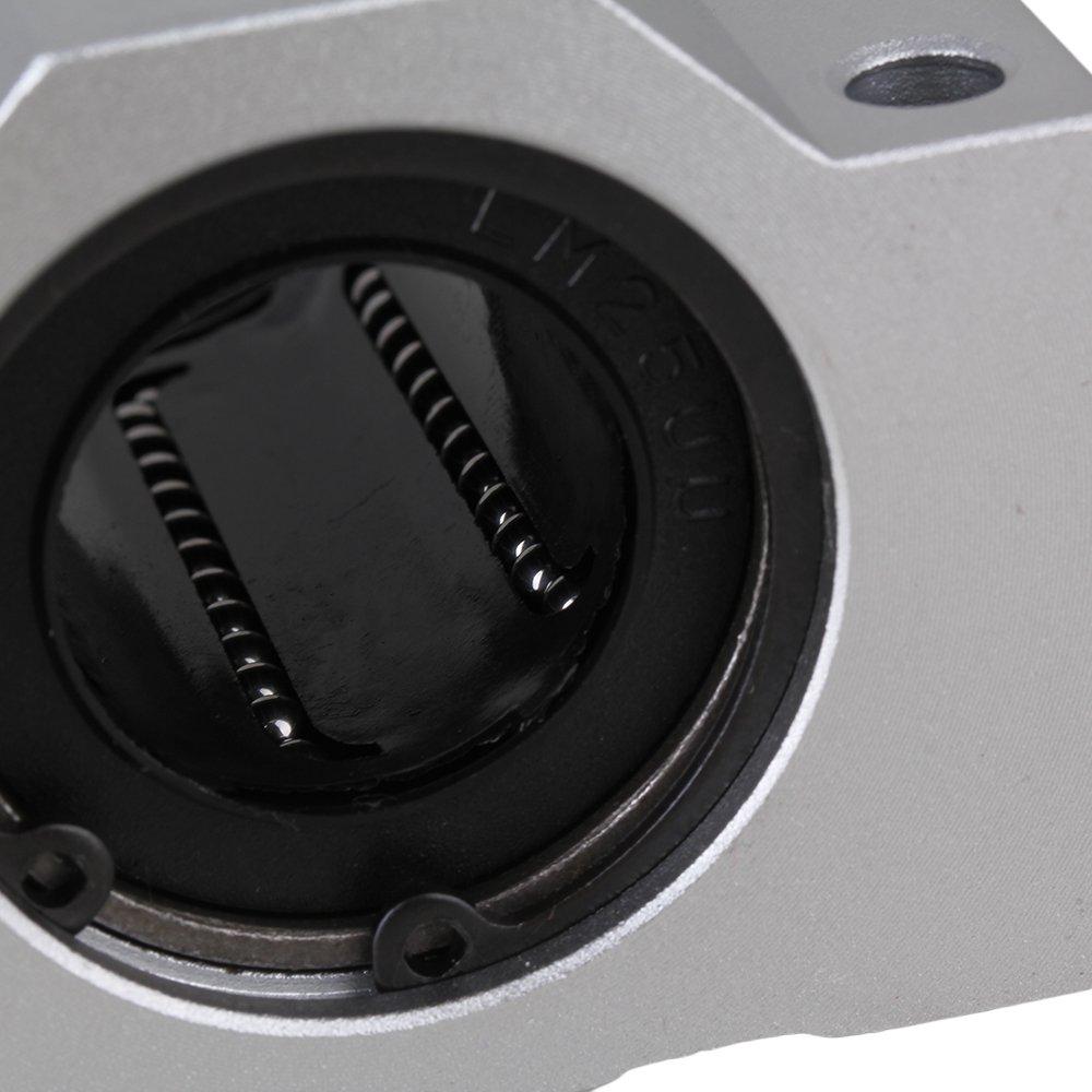 Yibuy - Rodamientos lineales de Alta Resistencia DE 25 mm para Bolas de Movimiento: Amazon.es: Amazon.es