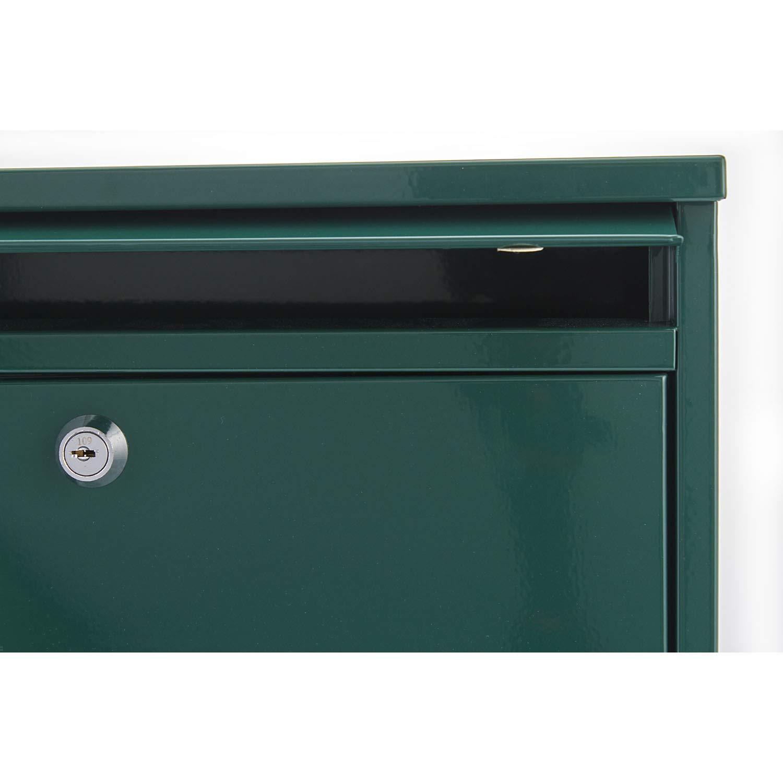 Buz/ón Compacto Color Plateado Sterling MB02G