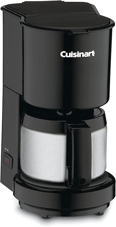 Cuisinart DCC 450BK 4 Cup Coffeemaker With St