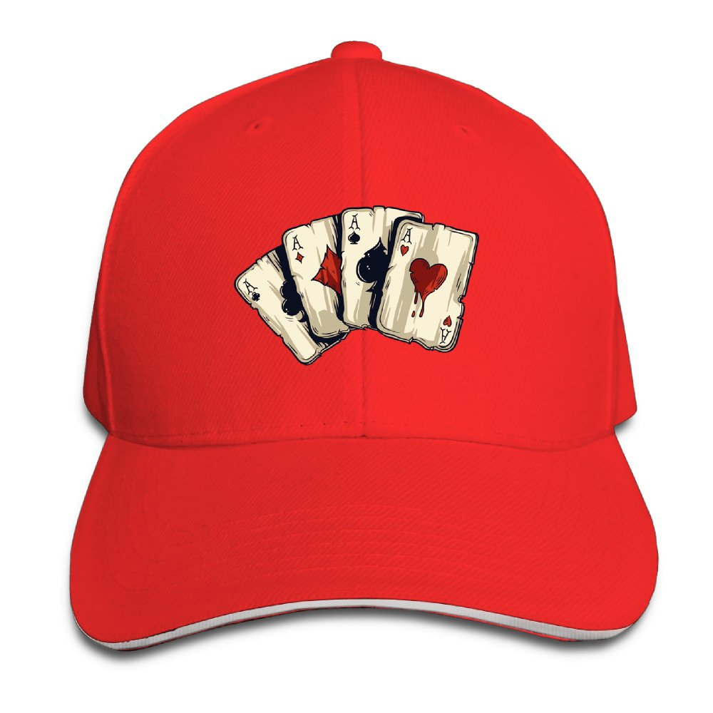 Playing Cards Dad Hat Sun Hat Sandwich Baseball Cap Hats