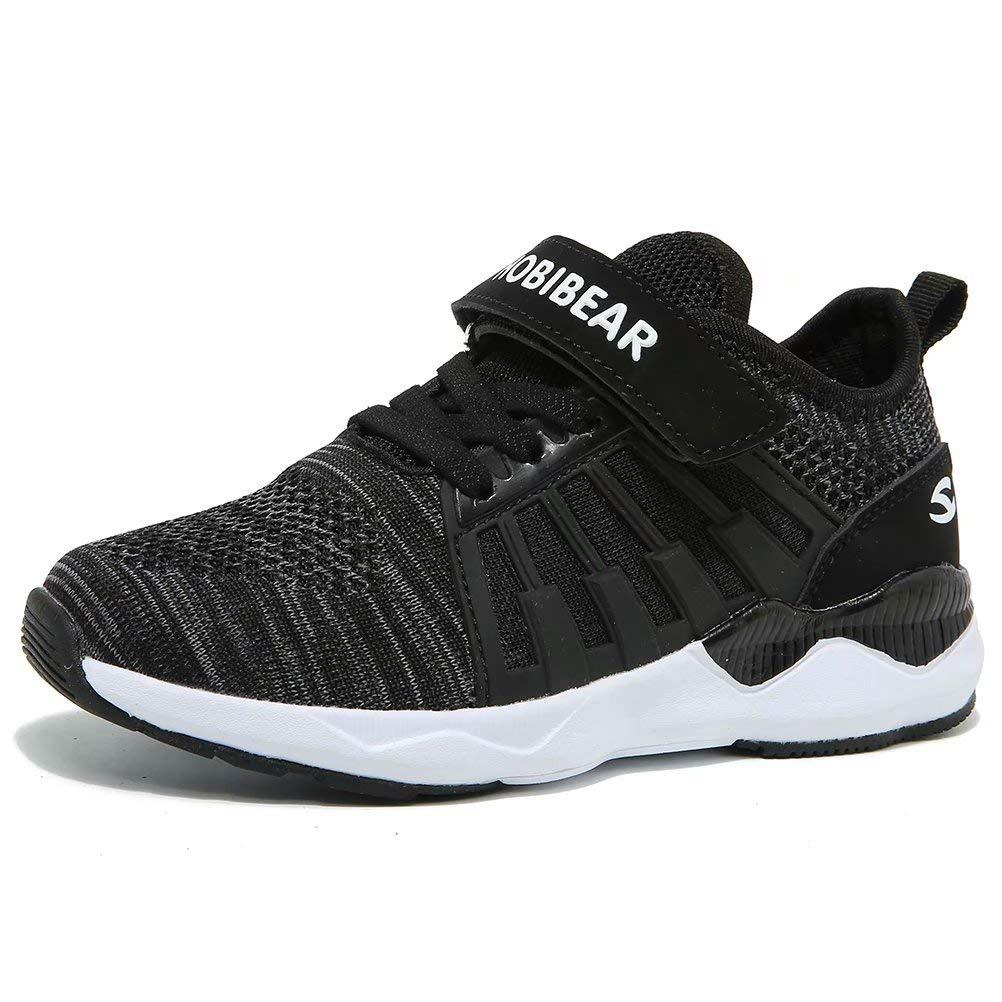 HOBIBEAR Kids Running Shoes Lightweight Mesh Athletic Sneakers HO-H7695