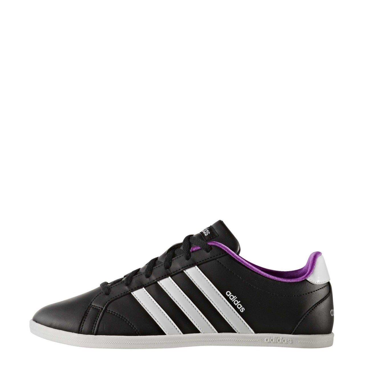 Adidas Vs Coneo Qt W, Zapatillas de Deporte para Mujer 44|negro