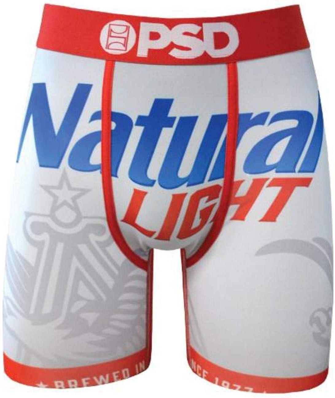 PSD Men's E - Natty Light Boxer Brief Underwear