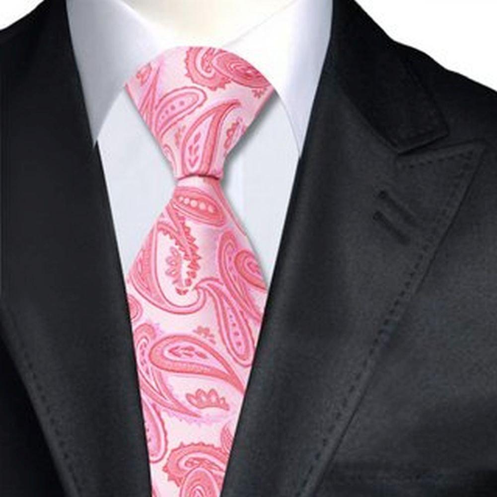 Jason&Vogue - Corbata - Paisley - para hombre rosa rosa pastel ...