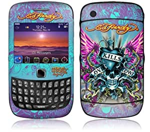 MusicSkins, MS-EDHY30211, Ed Hardy - Love Kills , BlackBerry Curve 3G (9300/9330), Skin