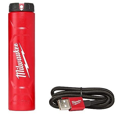 Amazon.com: Milwaukee 48 – 59 – 2002 rojo de litio Cargador ...