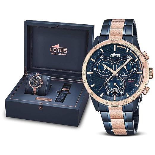 650695378c00 Reloj Lotus Motor Spirits 18330 2  Amazon.es  Relojes