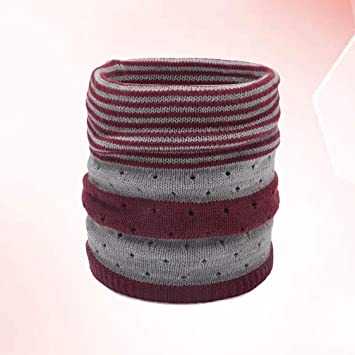 FENICAL calentador de cuello tubo de cuello alto bufanda de invierno a prueba de viento protecci/ón contra el fr/ío para hombre mujer