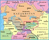 Kyrgyzstan 1:750,000 Geographical Travel Map GIZI