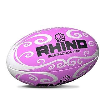 Rhino Barracuda - Pelota de Rugby para Playa, Color Rosa, tamaño 4 ...
