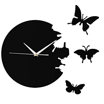 Decorative Wall Clock Kitchen Clock Artistic Clock with