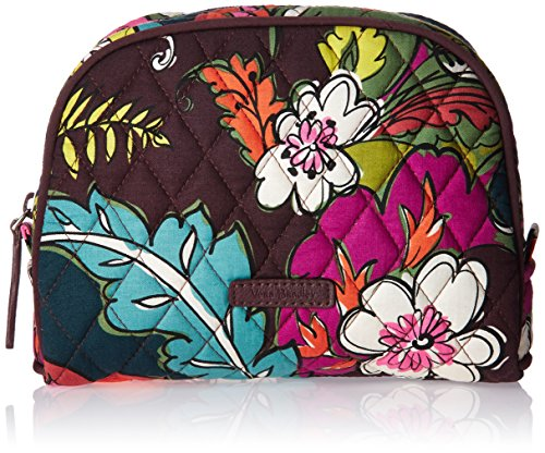Vera Bradley Medium Zip Cosmetic, Autumn Leaves