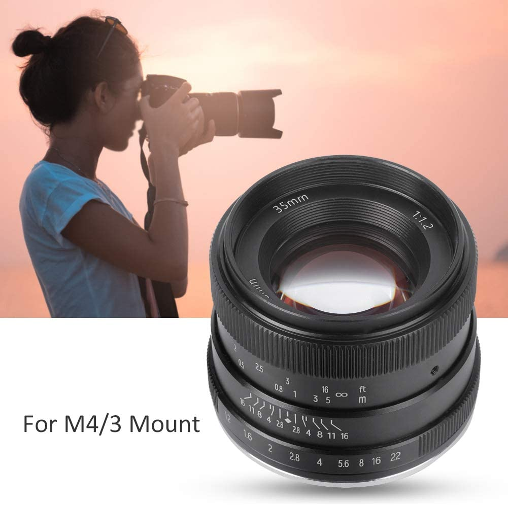 Metal for Nikon Z Mount Manual Fixed‑Focus Lens Optical Glass 35mm f1.2 Scene Portrait Manual Fixed‑Focus Lens for Mirrorless Camera