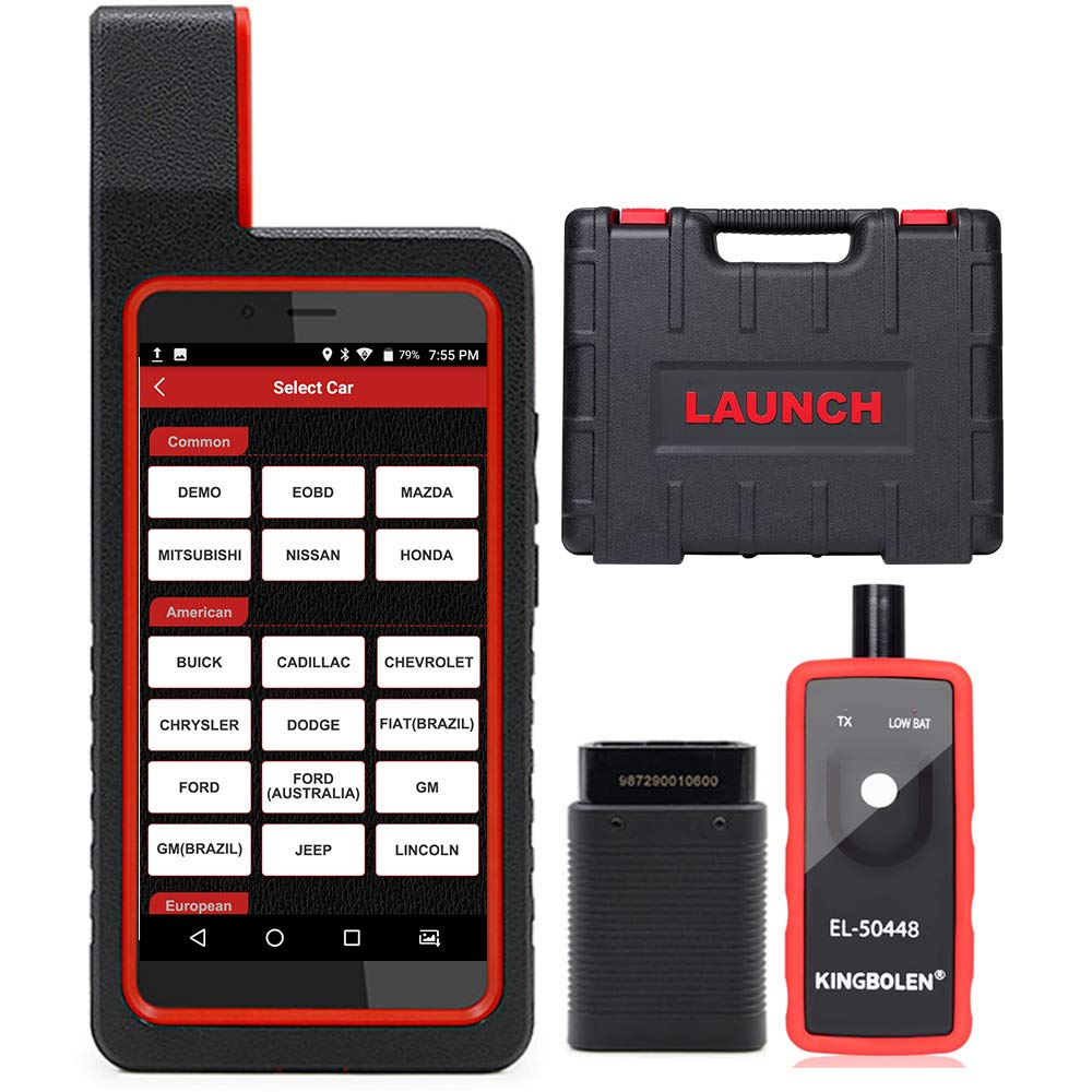 LAUNCH X431 Diagun IV Bi-Directional Full System OBD2 Scanner with ABS  Bleeding, ECU Coding, Key Fob Programming,TPMS Reset, WiFi/Bluetooth Code