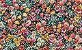Toland Home Garden Flower Foray-Decorative Floral Pattern Spring Summer Indoor Standard Mat