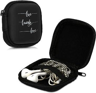 kwmobile Funda para Auriculares Compatible con Auriculares: Amazon.es: Electrónica