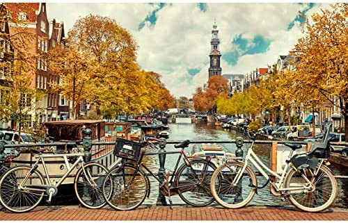 Fotomural Vinilo para Pared Canal de Amsterdam | Fotomural para ...