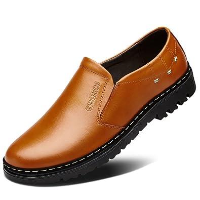 5b6c84d32b7b38 SPLNWTFHCNWPCB Herbst atmungsaktiv Herren Schuhe/Business Casual  Lederschuhe/Männlichen Perücke Füße Schuhe/England Mann Schuhe/Plus Größe  Schuhe: ...