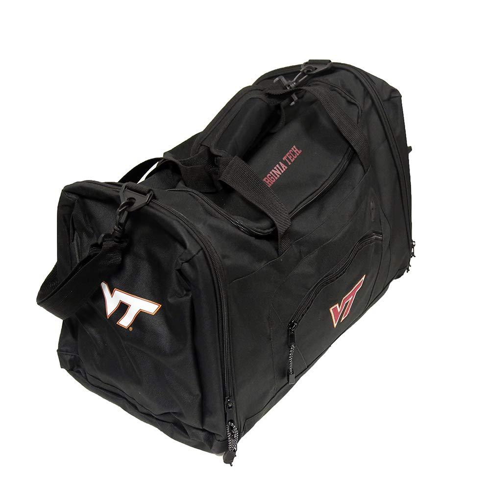 Black Northwest NCAA Virginia Tech Hokies Roadblock Duffel Bag