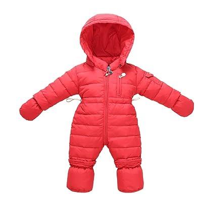 6302e0461 Tortor 1Bacha Newborn Infant Winter Hooded Down Puffer Snowsuit ...