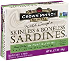 Natural Skinless & Boneless Sardines from Crown Prince