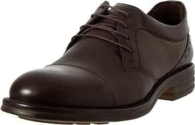black moustache Oxfords and Wingtip Shoes For Men , Size 44 EU , Color Brown