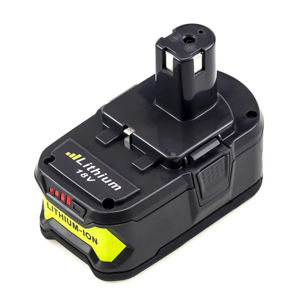Enermall 5.0Ah for Ryobi 18V Battery P108 ONE+ P104 P105 P103 P107 P109 Cordless Power Tools Battery