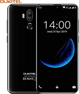 OUKITEL K9 - Unlocked Cell Phone, 7.12 Inch FHD+ Large Display Unlocked Smartphone Dual Sim with 6000mAh Battery 64+4GB RAM International Android Phone 9.0