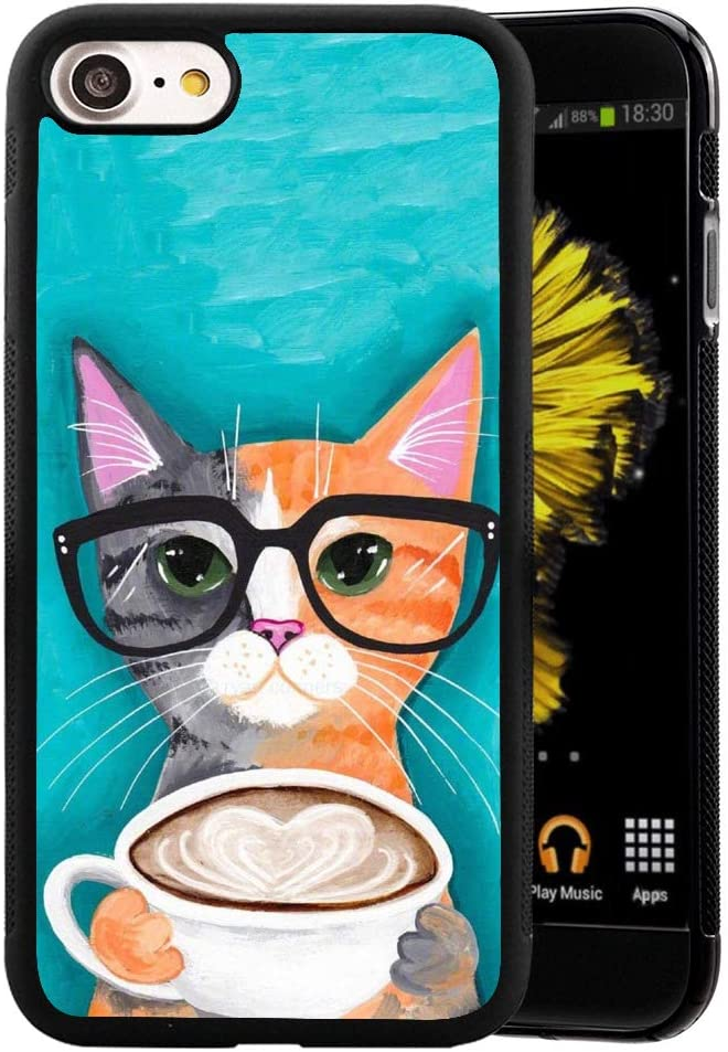 Amazon Com Ximalaya Cat Coffee Iphone 7 Plus 8 Plus Case Tpu Anti Drop Reduction Friction Phone Case Cat Coffee For Iphone 7 Plus 8 Plus
