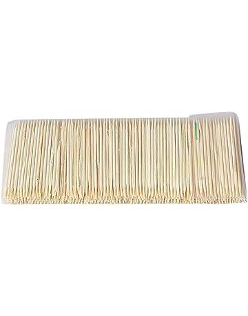 Largo Cóctel Palos de estilo japonés Bamboo espada para bocadillos 10cm X 100
