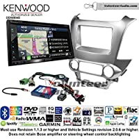 Volunteer Audio Kenwood Excelon DNX694S Double Din Radio Install Kit with GPS Navigation System Android Auto Apple CarPlay Fits 2015 Chevrolet Tahoe, Suburban