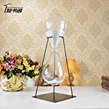 LWCX Iron Time Hourglass Ornaments 30/60 Minutes,54Cm