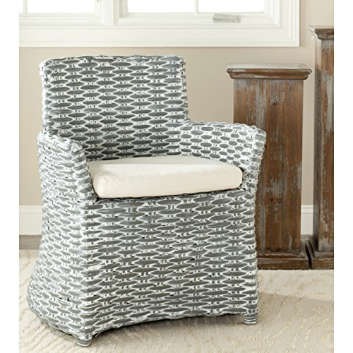 Safavieh Home Collection Cabana Grey White Wash Arm