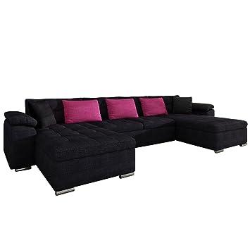 Mirjan24 Ecksofa Wicenza Design Big Sofa Eckcouch Couch Mit