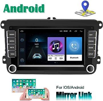 Camecho Android Car Radio para VW Navegación GPS 7 Pulgadas HD ...