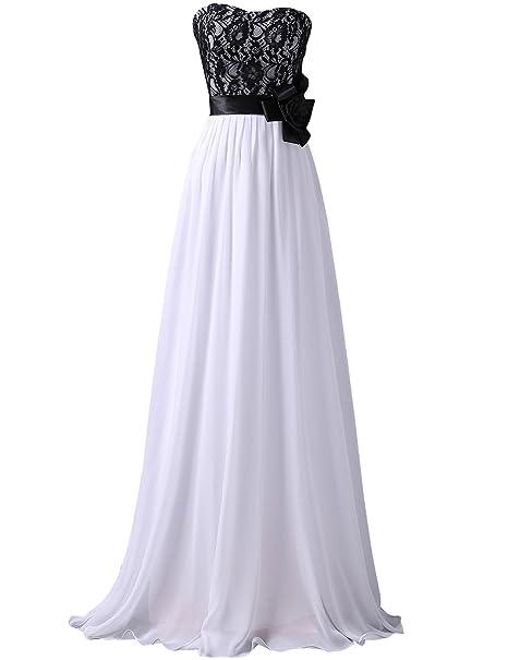Quissmoda vestido corto largo fiesta, noche, gala, talla 34, color blanco