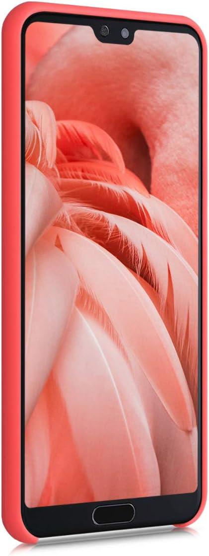 Cover Trasero en melocot/ón Carcasa de TPU para m/óvil kwmobile Funda Compatible con Huawei P20 Pro