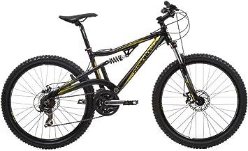 Diamondback OT20FBK - Bicicleta de montaña de doble suspensión (21 velocidades) , talla 26w/20: Amazon.es: Deportes y aire libre