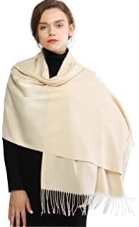 fd17921e2 Cashmere Winter Warm Scarf Pashmina Shawl Wrap for Women and Men Long Large  Soft Scarves