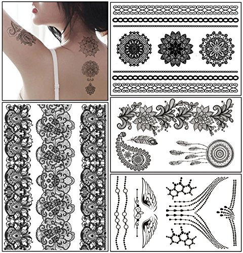 temporary-tattoo-stickers-glamorstar-fashion-black-lace-4-different-sheets-waterproof-body-art-tatto