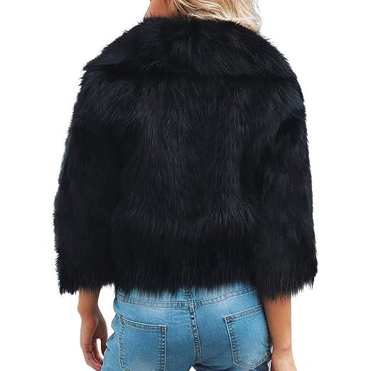 Amazon.com: Sunward Womens Elegant Short Faux Fur Coat Winter Warm Fur Jacket Overcoat Outerwear (3XL, Black): Pet Supplies