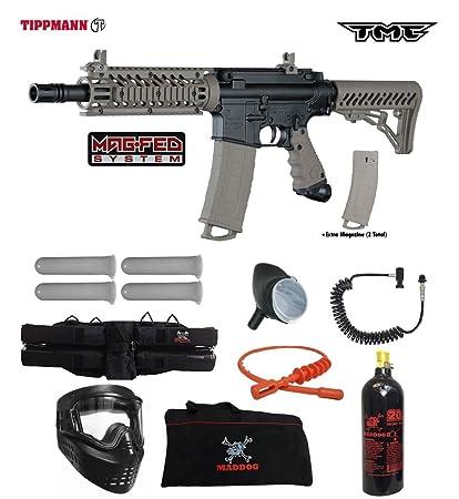 Amazon Com Tippmann Tmc Magfed Specialist Paintball Gun Package