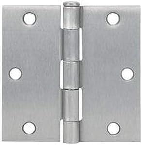 Cosmas Satin Nickel Door Hinge 3.5