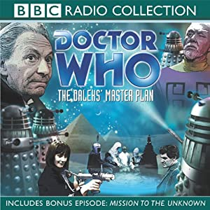 Doctor Who: The Daleks' Master Plan Radio/TV Program