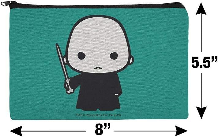 Harry Potter Voldemort Cute Chibi Character Bolsa organizadora para cosméticos