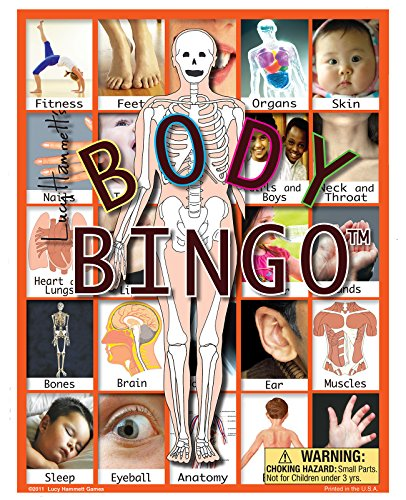 Body Bingo Game (Human Body Game)